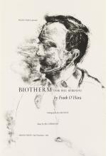 (ARION PRESS.) O''Hara, Frank; and Jim Dine. Biotherm (For Bill Berkson).