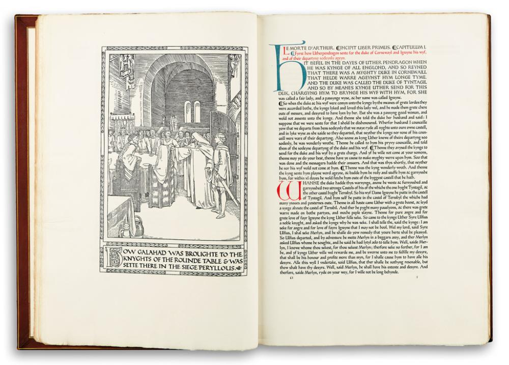 (ASHENDENE PRESS.) Malory, Sir Thomas; translator. The Noble and Joyous Book entytled Le Morte d''Arthur.