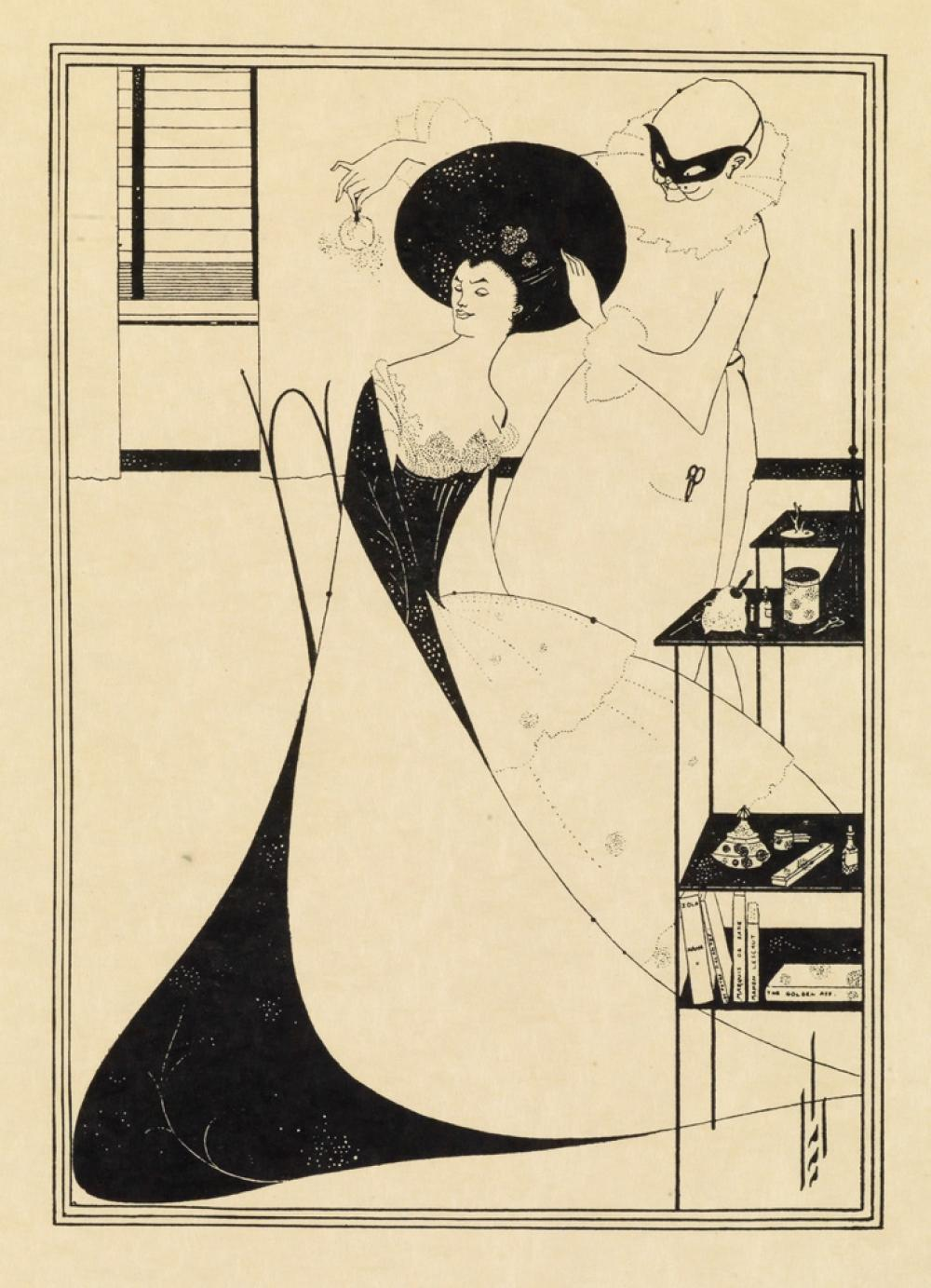 BEARDSLEY, AUBREY. A Portfolio of Aubrey Beardsley''s Drawings Illustrating