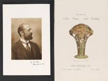 (BOOK ARTS / PRINTING.) Ives, Frederic Eugene. Specimens of Color Plates and Printing.