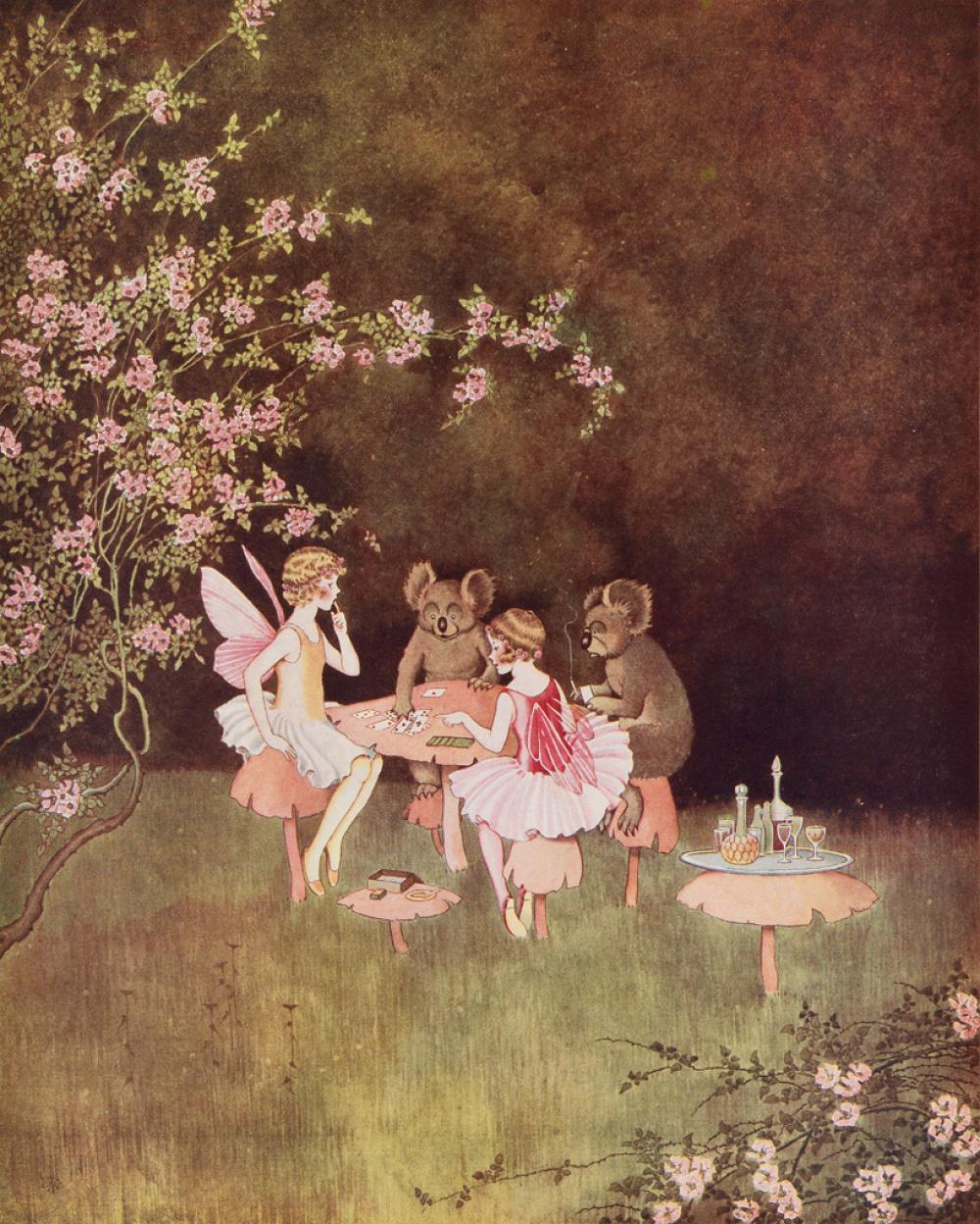 (OUTHWAITE, IDA RENTOUL.) Rentoul, Annie R. and Grenby Outhwaite. Fairyland.