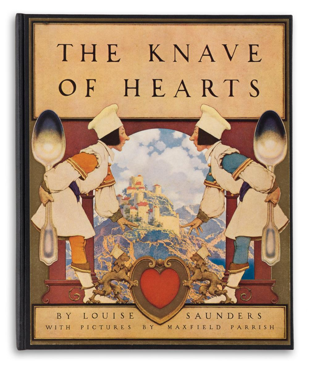 (PARRISH, MAXFIELD.) Saunders, Louise. The Knave of Hearts.