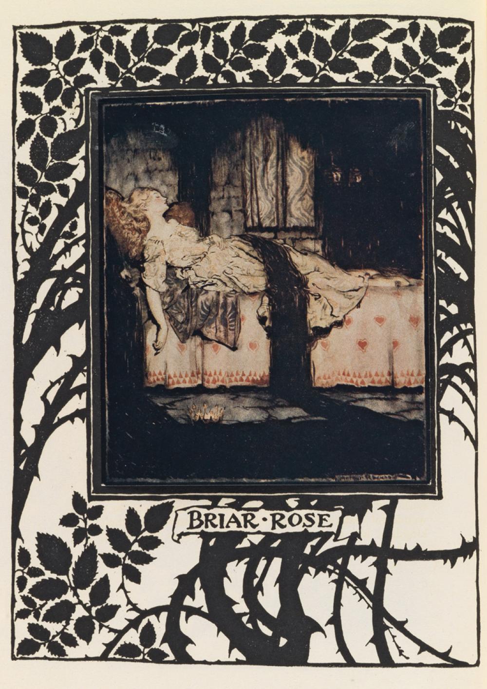 (RACKHAM, ARTHUR.) Evans, C. S. The Sleeping Beauty.