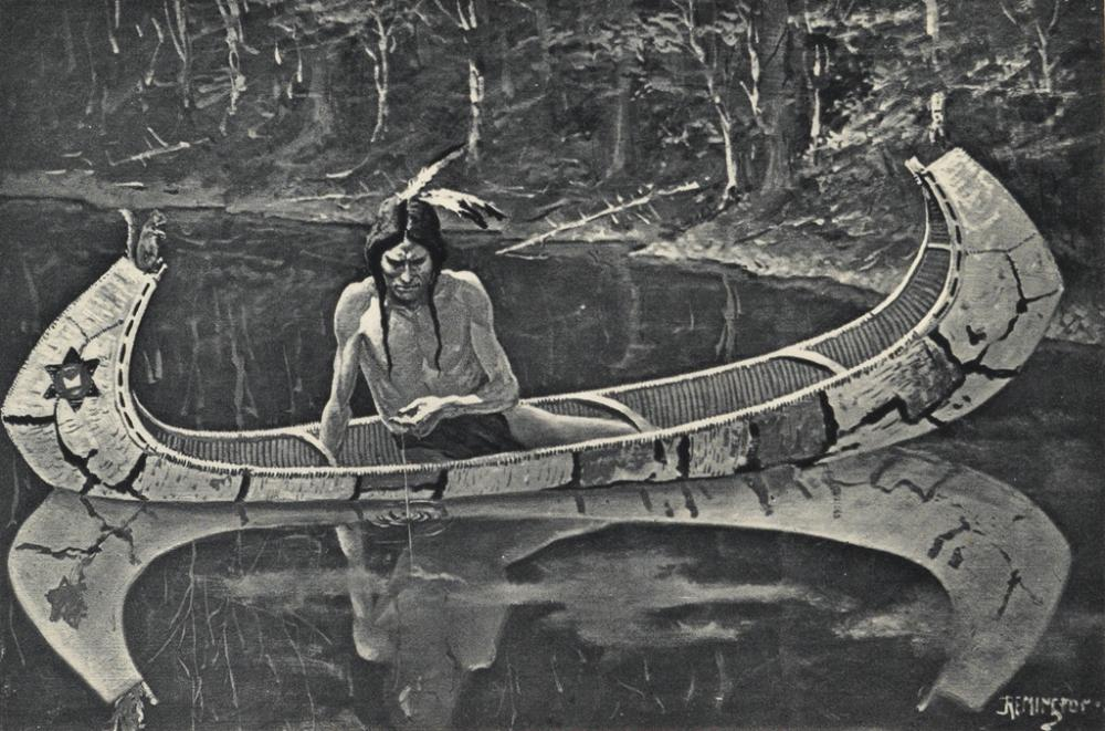 (REMINGTON, FREDERIC.) Longfellow, Henry Wadsworth. The Song of Hiawatha.