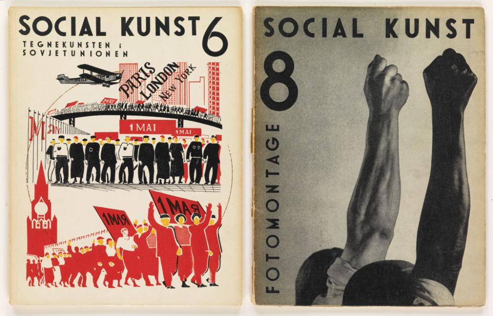 (ARTISTS'' MAGAZINES.) Hansen, Anton; editor. Social Kunst 1-8 only