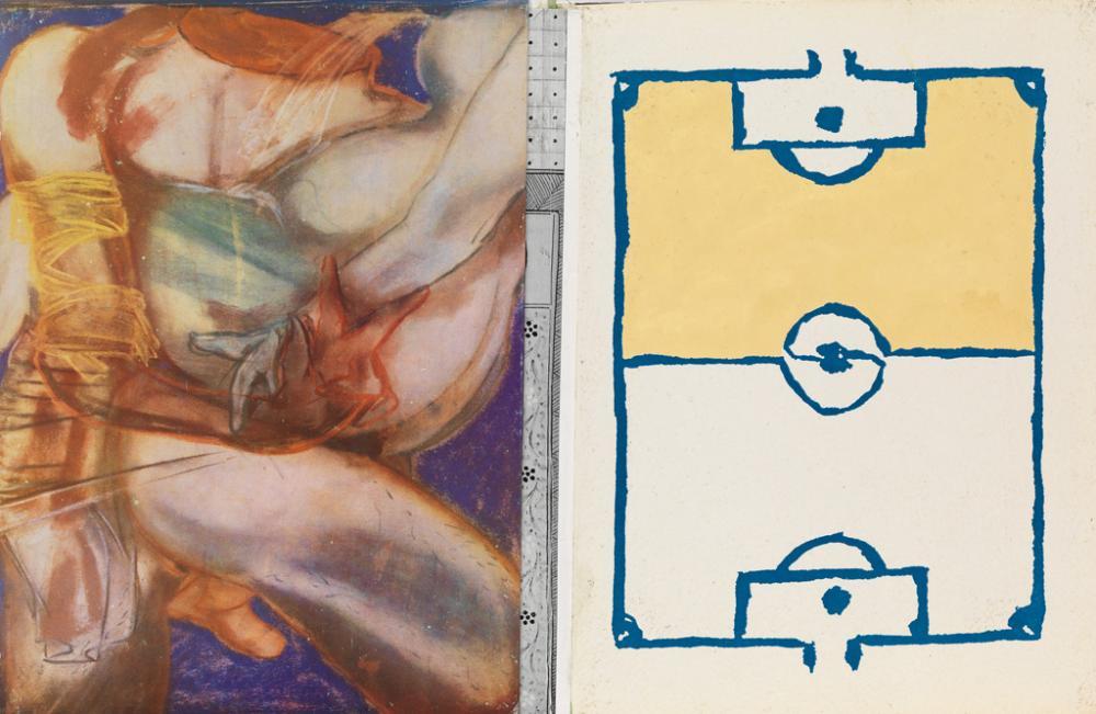 CLEMENTE, FRANCESCO. Francesco Clemente: Watercolours.