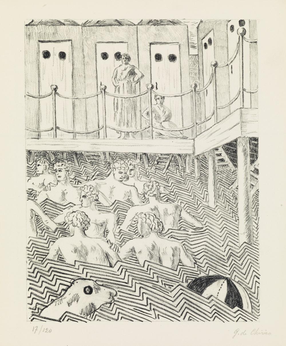 COCTEAU, JEAN; and DE CHIRICO, GIORGIO. Mythologie.