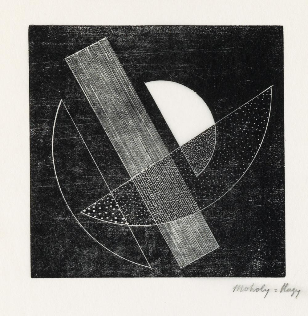 (DESIGN.) Moholy-Nagy, László. Composition [for Het Overzicht.]