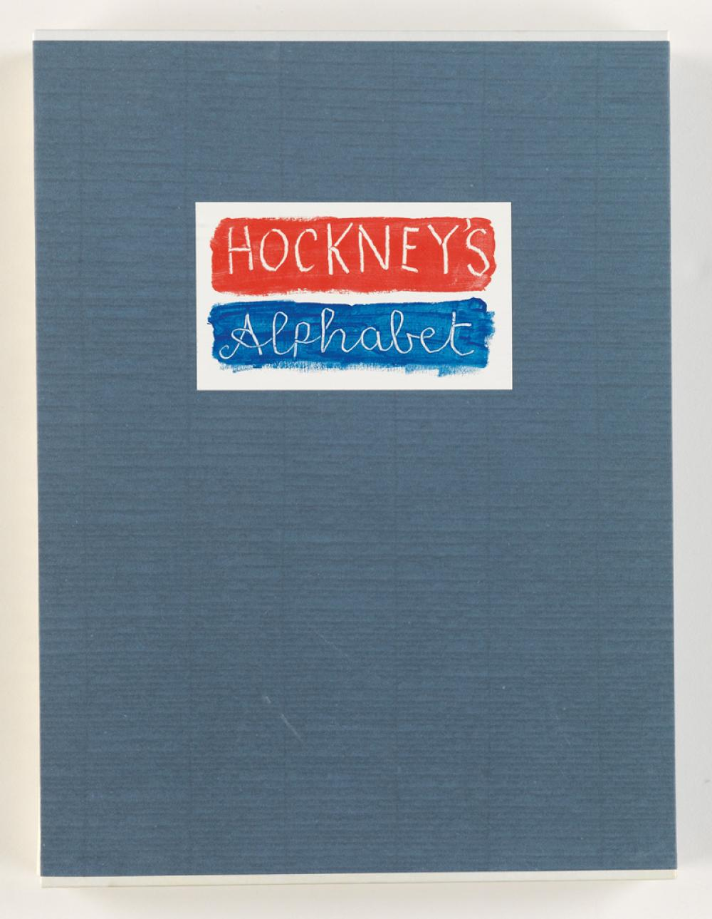 HOCKNEY, DAVID. Hockney''s Alphabet.
