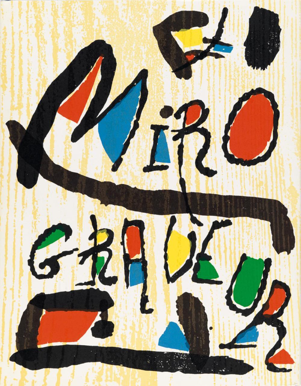 MIRÓ, JOAN. Miró Engravings.