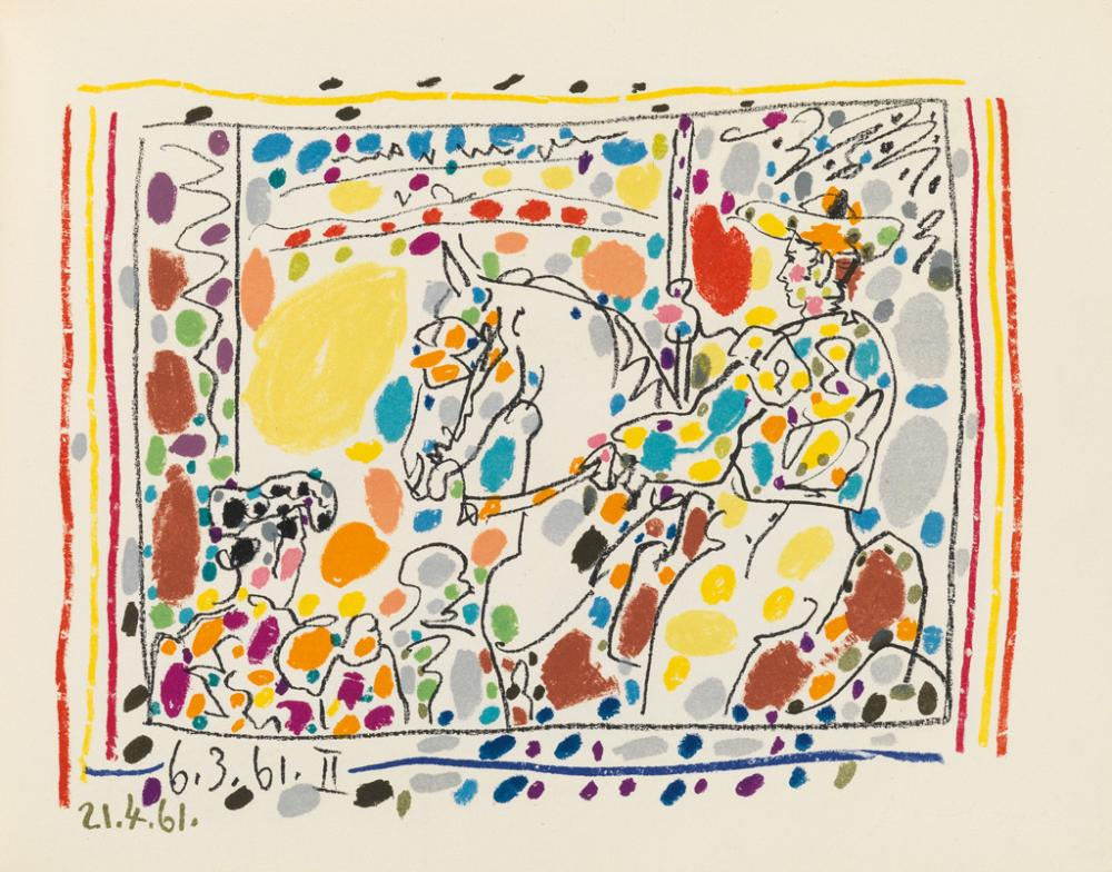 (PICASSO, PABLO.) Sabartés, Jaime. A Los Toros avec Picasso.