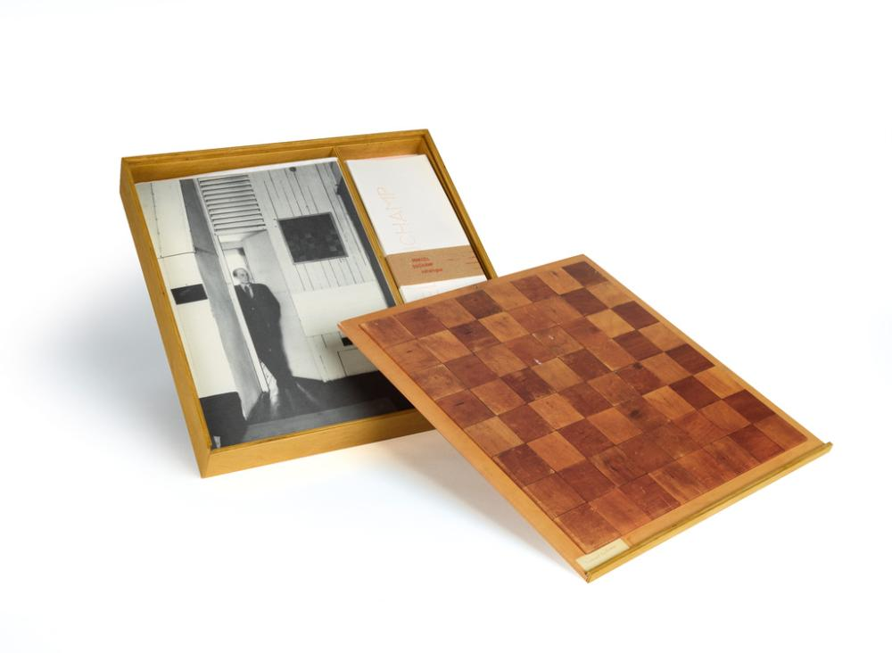 (SURREALISM.) Duchamp, Marcel. Chess Board.