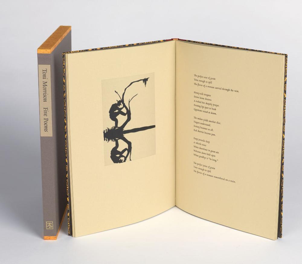 WALKER, KARA; and TONI MORRISON. Five Poems.