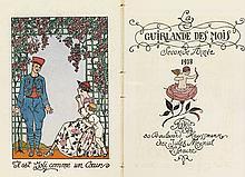 BARBIER, GEORGE. La Guirlande des Mois pour 1918.