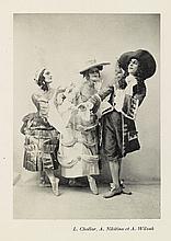 (BRAQUE, GEORGES.) Cocteau. Jean; and Laloy, Louis. Théatre Serge de Diaghilew. Les Facheux.