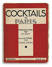 (COCKTAILS.) Cocktails de Paris.
