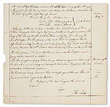 (SLAVERY AND ABOLITION.) REVOLUTIONARY WAR. Trial of Billy,