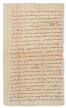 (SLAVERY AND ABOLITION---DISTRICT OF COLUMBIA.) Anthony Smith of Georgetown sells his slave boy Jacob, age sixteen, stipulating that he