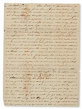 (SLAVERY AND ABOLITION--MOUNT VERNON.) WASHINGTON, JOHN AUGUSTINE.