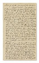(SLAVERY AND ABOLITION.) SOUTH CAROLINA. A South Carolinian planter bequeaths 10 slaves to his wife, 12 to his son, and 23 to his daugh