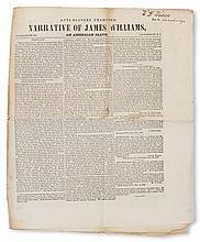 (SLAVERY AND ABOLITION--NARRATIVES.) The Anti-Slavery Examiner Extra