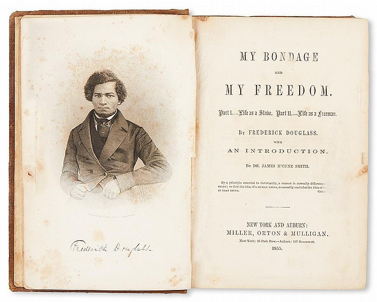 frederick douglass and abolition Frederick douglass (c 1817-1895) is a central figure in united states and african american history [] he was born a slave, circa 1817 [] his mother was a negro slave and his father was reputed to be his white master.