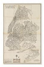(CIVIL RIGHTS.) NEW YORK CITY. Trend of Negro Population in Census Tracts of New York City 1920-1930.