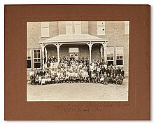 (EDUCATION.) Group photograph of the students of the Calfee Training School, Pulaski, Virginia.