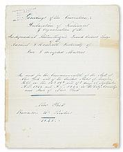 (FRATERNAL--MASONIC.) Proceedings of the Convention: Declaration of Sentiments and Organization of the Independent Philanthropic Grand
