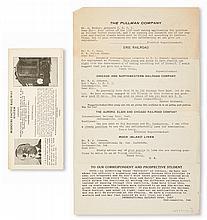 (LABOR.) PULLMAN PORTERS. International Railway Correspondence Institute.