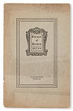 (LITERATURE AND POETRY.) BOLTON, LEMUEL; MACLEOD, NORMAN; DAVIS, FRANK M. Scraps of Verses * Horizons of Death * Black Man's Verse.
