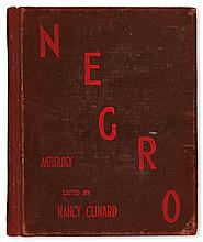 (LITERATURE AND POETRY.) CUNARD, NANCY, EDITOR. The Negro Anthology, Made by Nancy Cunard, 1931-1933.