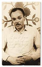 (LITERATURE AND POETRY.) CHESTER HIMES. Portrait by Carl Van Vechten.