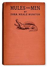 (LITERATURE AND POETRY.) HURSTON, ZORA NEALE. Mules and Men, Illustrated by Miguel Covarrubias.