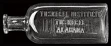 (MEDICINE.) TUSKEGEE. Chemical Bottle from the Science Department of Tuskegee Institute.