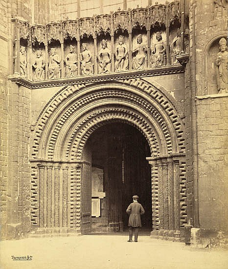BEDFORD, FRANCIS (1816-1894) Album containing 72 exterior and interior ecclesiastical views of abbeys and