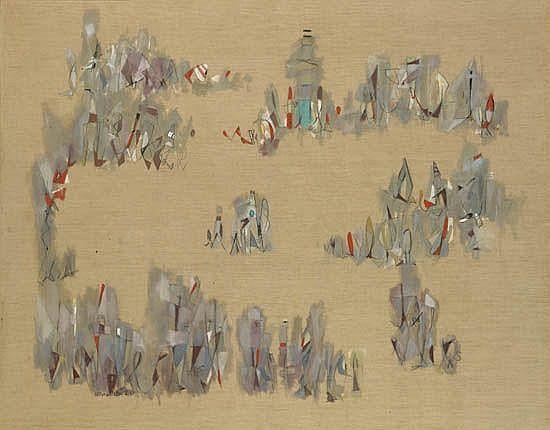 NORMAN LEWIS (1909 - 1979) Promenade.
