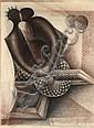 JOHN BIGGERS (1924 - 2001) Homage to the See Saw., John Anansa Thomas Biggers, Click for value