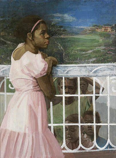 ERNEST CRICHLOW (1914 - 2005) Dreams of the Big House.