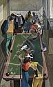 COLUMBUS KNOX (1923 - 1999) Pool Players., Columbus Knox, Click for value