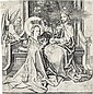 MARTIN SCHONGAUER The Coronation of the Virgin.