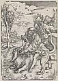 ALBRECHT DÜRER Samson Fighting with the Lion.