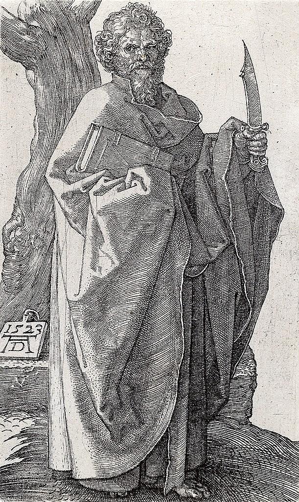 ALBRECHT DÜRER St. Bartholomew.
