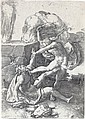 LUCAS VAN LEYDEN Cain Killing Abel.