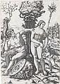 MARCANTONIO RAIMONDI Mars, Venus and Cupid.