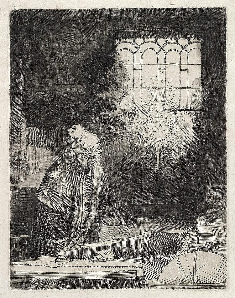 REMBRANDT VAN RIJN Faust.