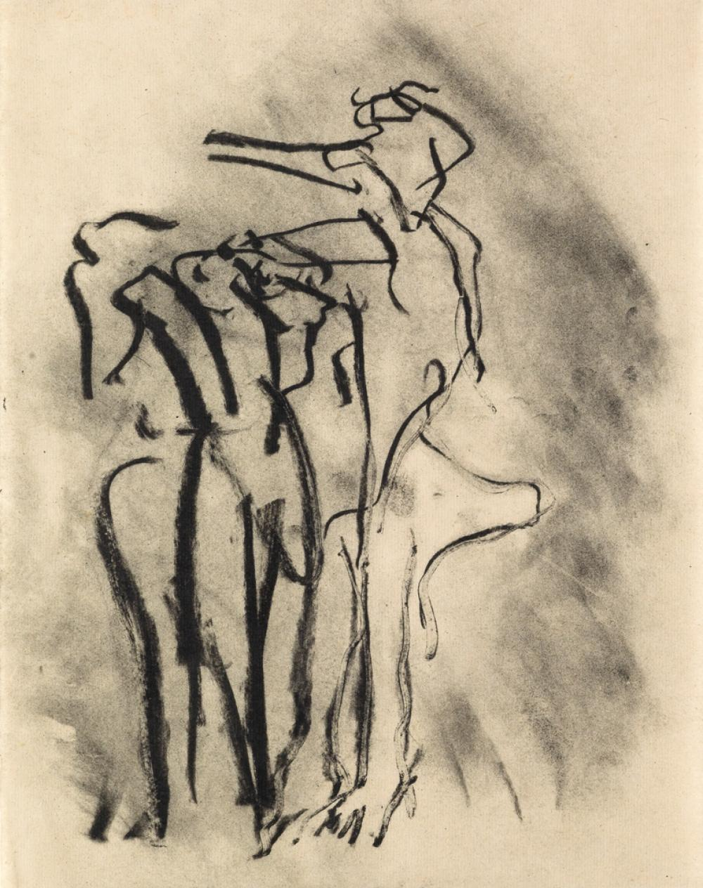 WILLEM DE KOONING Group of 7 lithographs from Poems by Frank