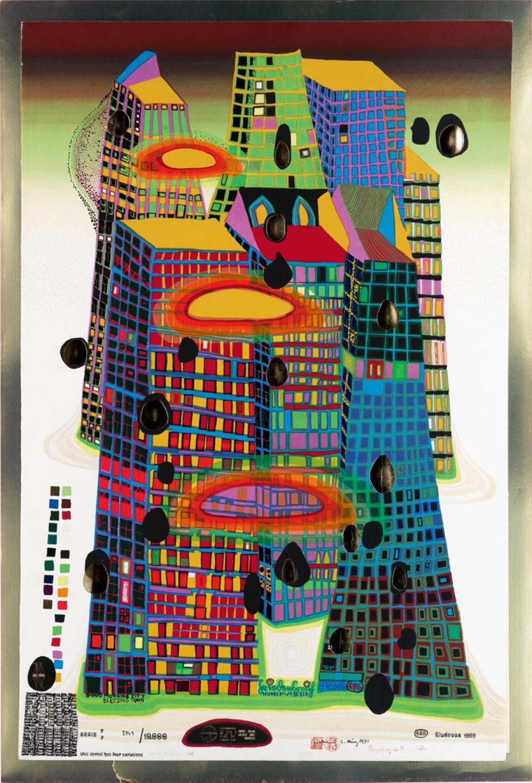 Friedensreich Hundertwasser Good Morning City Bleeding Town
