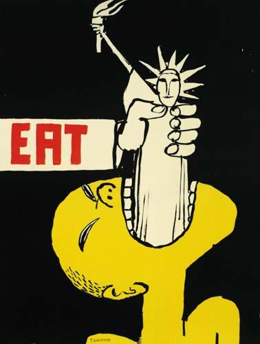 TOMI UNGERER (1931- ) EAT. 1967.
