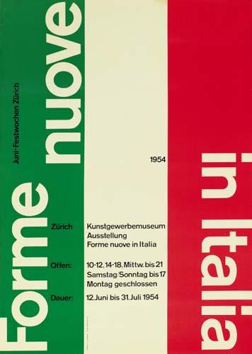 CARLO VIVARELLI (1919-1986) FORME NUOVE IN ITALIA.  1954.